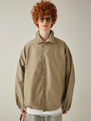Om Button Point Jacket (Earth Beige)