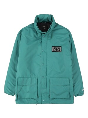 DERBY BOX PARKA (DUSTY TEAL)