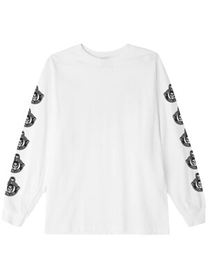 OBEY MISFITS FIEND CLUB (WHITE) T-SHIRT L/S