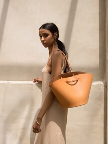 Basket Bag - Beige