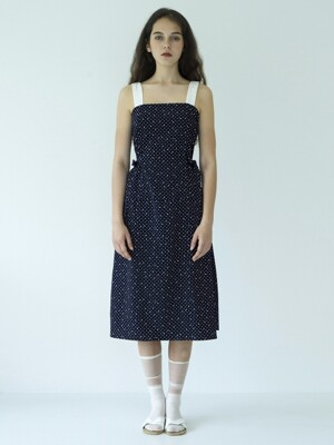 Iceflake dress_navy