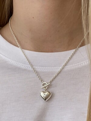 pounding heart necklace