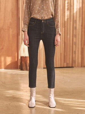 RAW CROP SKINNY JEAN_DENIM