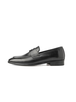 BLACK BOX CLASSIC FIT PENNY LOAFERS