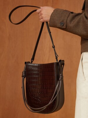 DOUBLE SIDE BAG_DARK BROWN