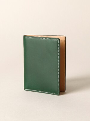 Italian Vegetable Basic Wallet Green