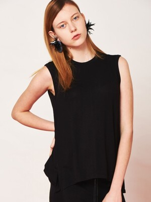 SLEEVELEE FLARE JERSEY TOP