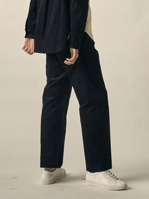 DGRE GREAT CORD WIDE LOOSE FIT PANTS