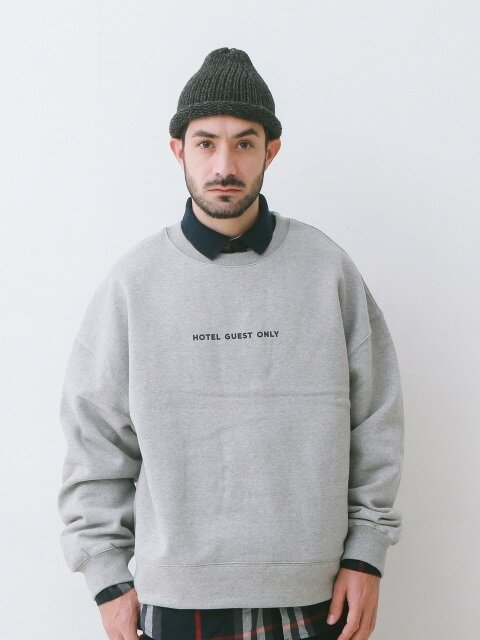 HOTEL GUEST ONLY SOFT HEAVY WEIGHT OVERSIZED SWEAT (GREY)