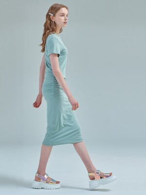 Everyday perfect dress [Mint haze]