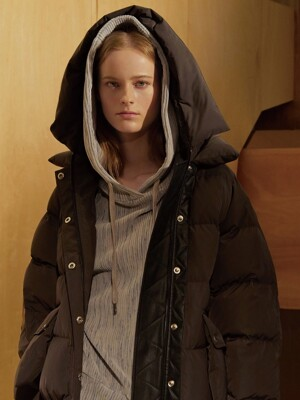 (FOMELLY) SHORT PADDED COAT (RERHEE X JBREFINE)