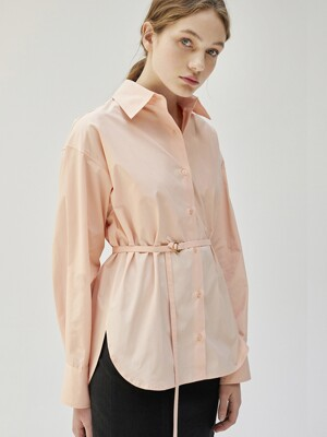 Oring Belted Shirt_PC