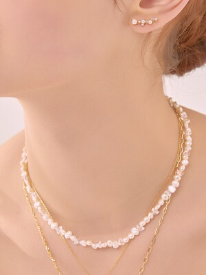 PEARL N CRYSTAL BEADS NECKLACE_NZ1018