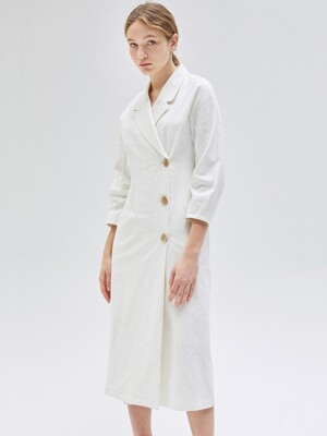 Linen Jacket Dress _2color