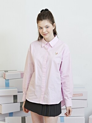 SIGNATURE OXFORD SHIRTS [PINK]