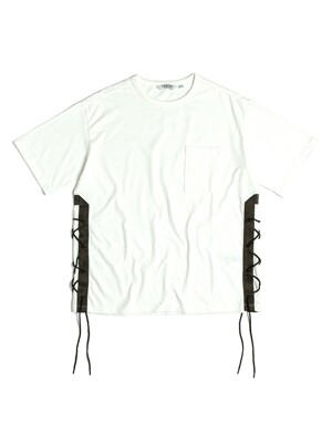 FLAK T-SHIRT / OFF WHITE