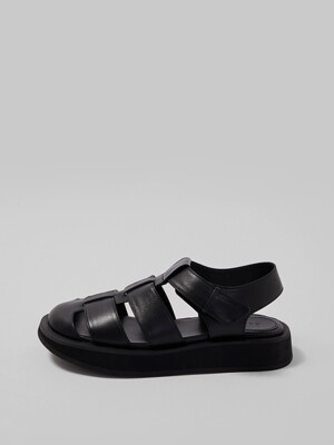 FISHERMAN SANDAL [BLACK]