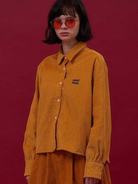 18 CORDUROY SH [YELLOW]