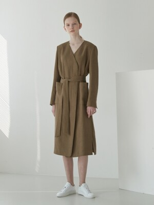 Robe one-piece coat [CA]