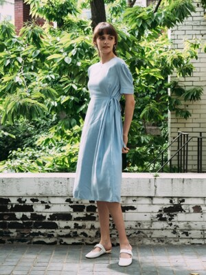 Oyonnax Linen Dress (3color)