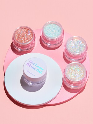 Get Loose Glitter Gel. + GLITTERY WAVE LIP BALM.