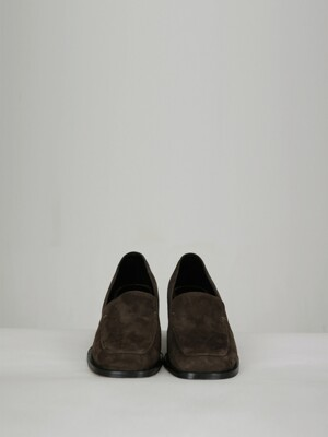 nubuck loafer