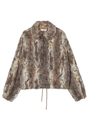 ril zip up fur
