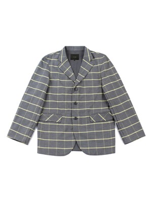 WINDOW PANE CHECK BLAZER