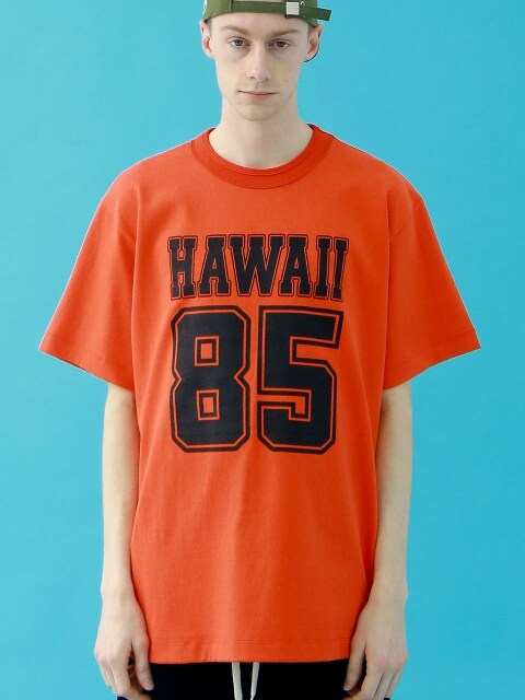 HAWAII T-SHIRT (ORANGE)