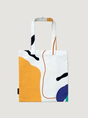 Line and shape bag ( mini / large size )