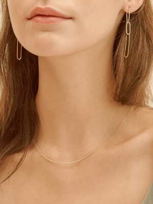 thin lines necklace