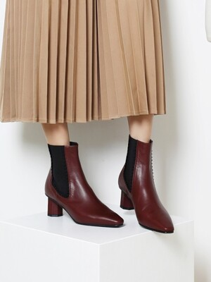 Feel at love boots_Dark Burgundy_0066
