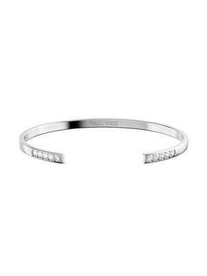 Cuff Collection - Silver 여성 뱅글 팔찌 PVJ001SV