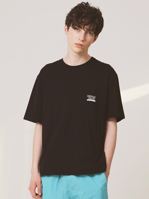 DV SIGN LOGO TEE(BLACK)