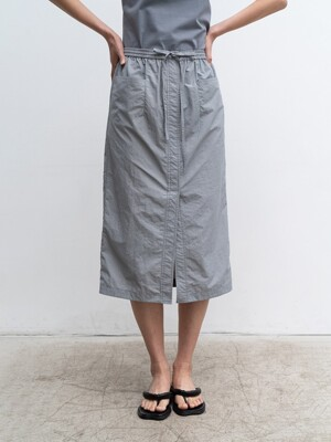20SUMMER DRAWSTRING POCKET SKIRT (BLUE)