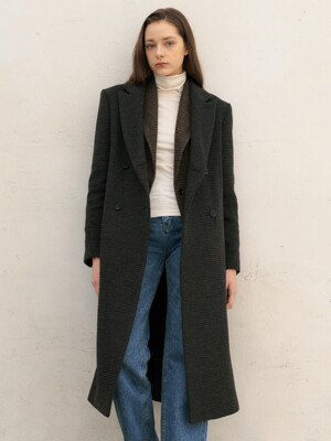 Ludi Double Wool Coat_Brown