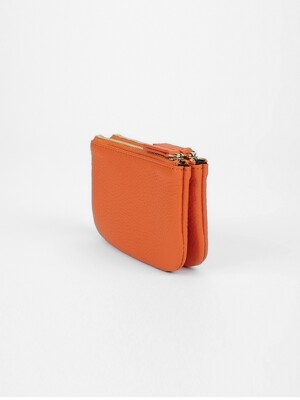 WALLET-DOUBLE-ORANGE [LESAC]