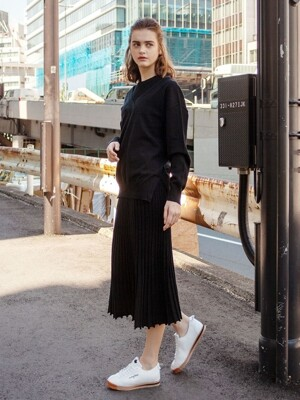 [단독] Twin set Flared rib knit dress