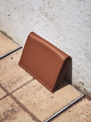 Pochette card wallet Smoky Tan