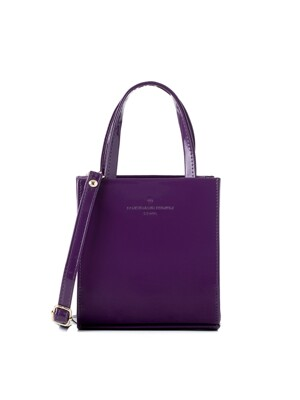 apple bag (purple) - D1024PU