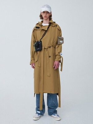 Amron trench coat Beige