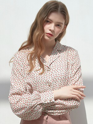 [By Joorti] J426 blooming blouse (ivory)