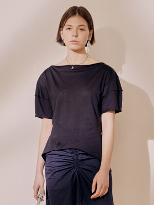 Bell Sleeve Tee_Black