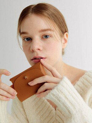 Soap Card Wallet_Camel