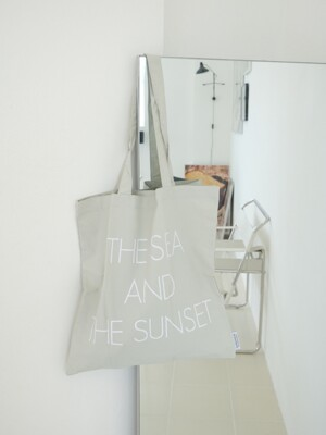 subThe sea and the sunset bag ( grey )