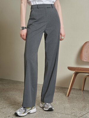 SI PT 7023 Long Wide Slacks_Charcoal