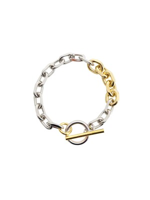 Combination Bold Chain Bracelet