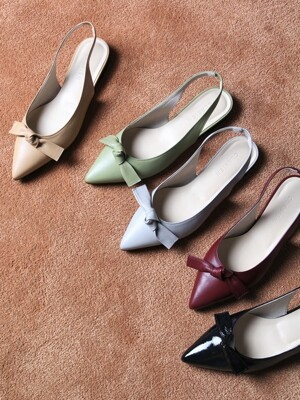 The muse flat sling back shoes_F_CB0008_5color