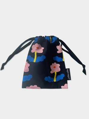flower dance string pouch s