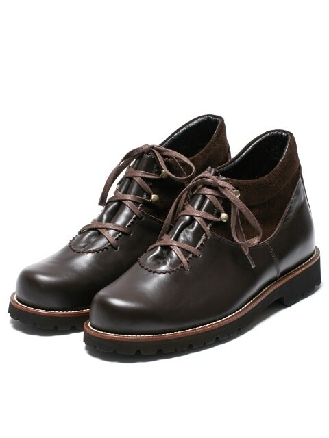 SHEPHERD BOOTS D/BROWN